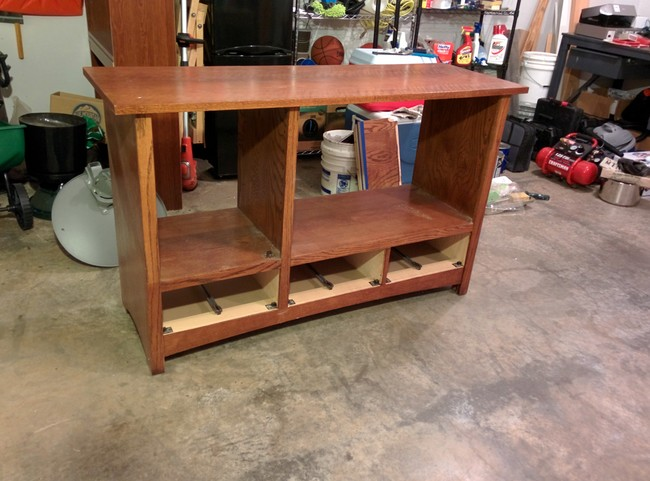 DIY Transformation of TV Cabinet into Something Cool7