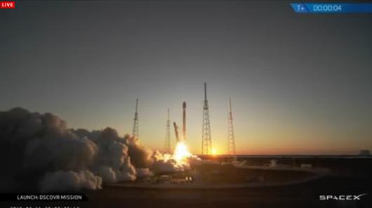 DSCOVR Falcon 9 – Third Time's a Charm5