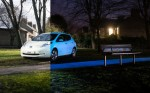 Nissan Glow-in-the-dark Electric Leaf is Amazing