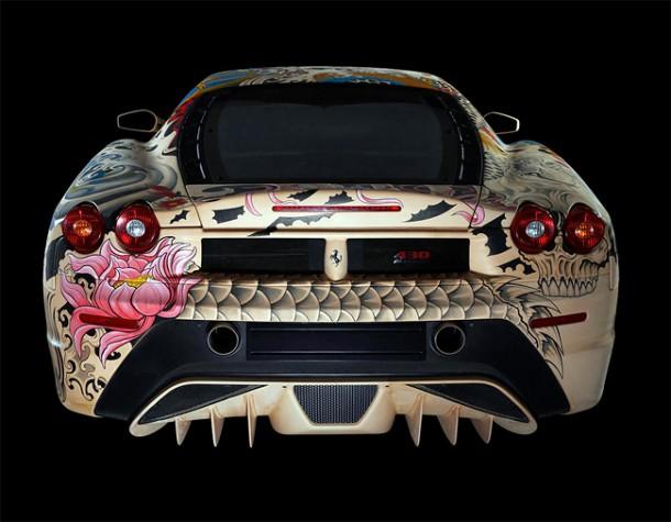 Philippe Pasqua Tattoos a Ferrari F4307