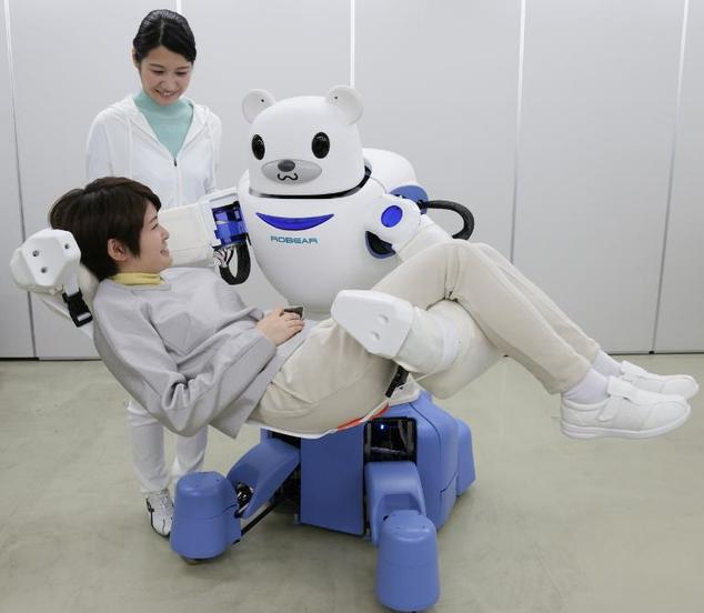 Robear – The Cute Robot That Can Lift Patients2