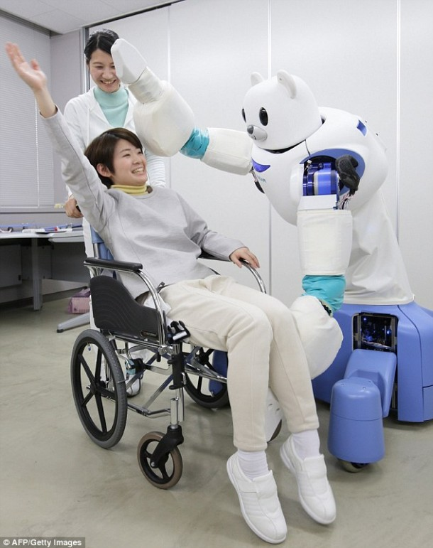 Robear – The Cute Robot That Can Lift Patients4