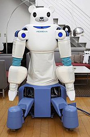Robear – The Cute Robot That Can Lift Patients5