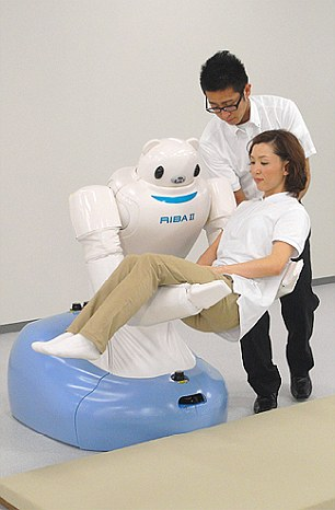 Robear – The Cute Robot That Can Lift Patients6