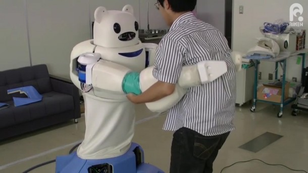 Robear – The Cute Robot That Can Lift Patients7