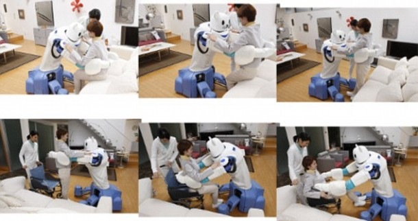 Robear – The Cute Robot That Can Lift Patients3