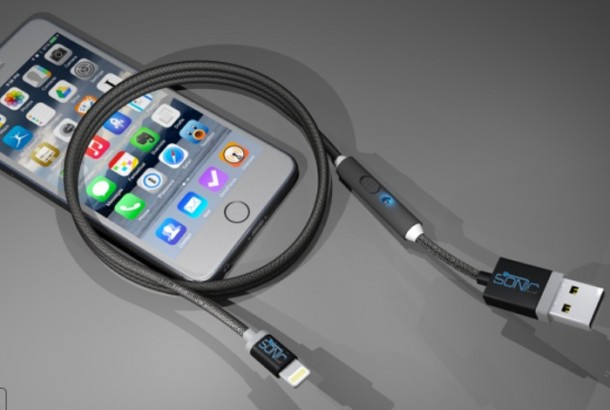 SONICable - Charge your Gadgets Faster