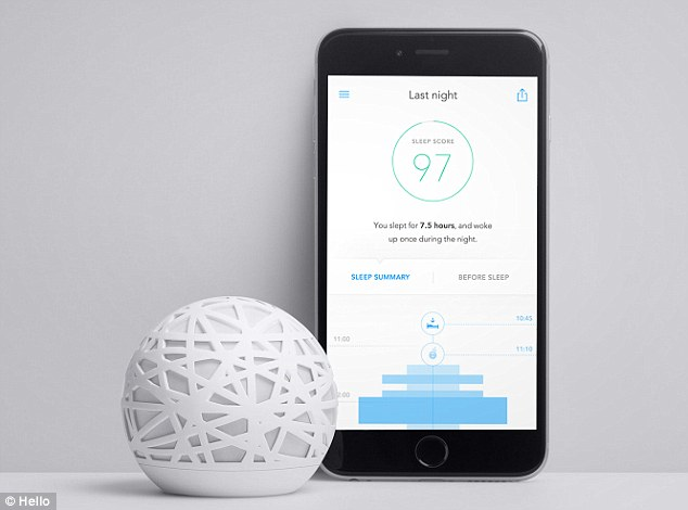Sense Is A Smart Glowing Ball That Monitors And Tracks Your Sleep