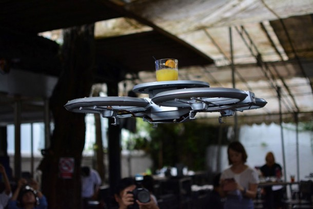 Singapore Restaurant to Use Drone Waiters