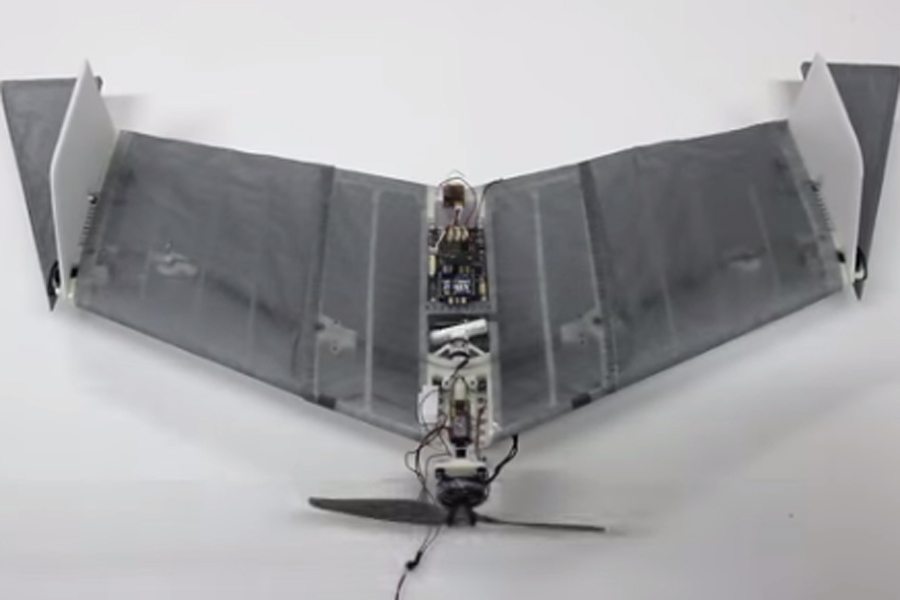 The Bat Drone – A Drone Capable of Walking and Flying4