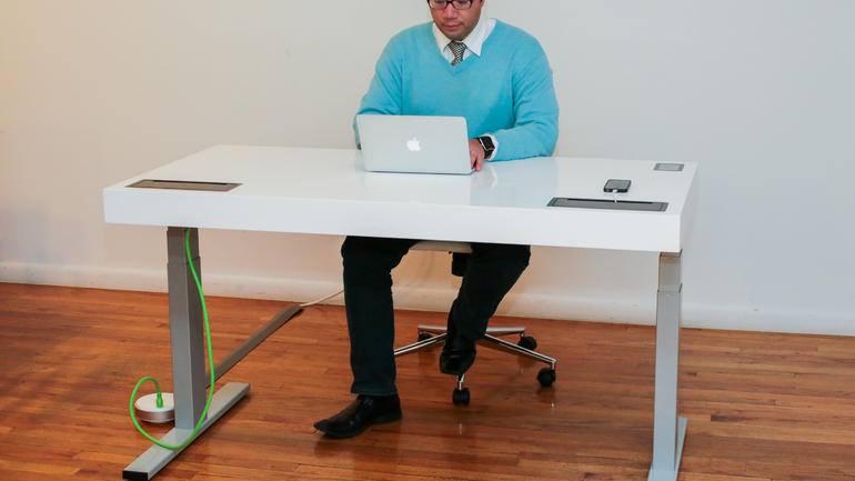 The Fitness Desk –Stir Kinect Desk