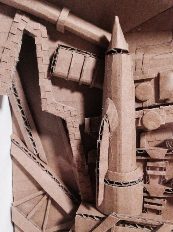 These Models are Created from Cardboard11