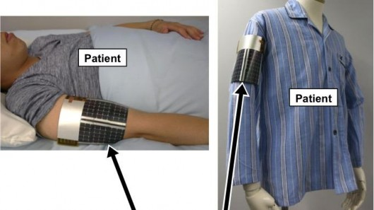 This Band will Let you Know if Any Patient's Body Temperature Rises