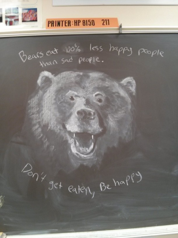 This Teacher Draws Something Unique Everyday