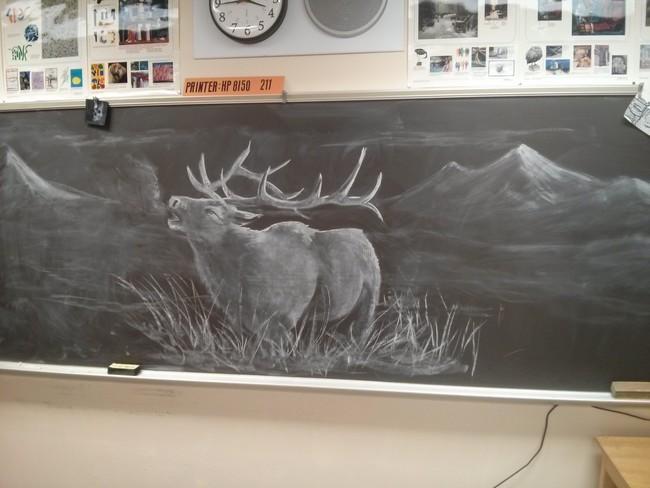 This Teacher Draws Something Unique Everyday6