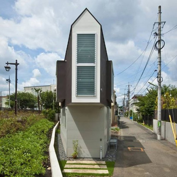 Tiny Triangle House has Surprises Inside it