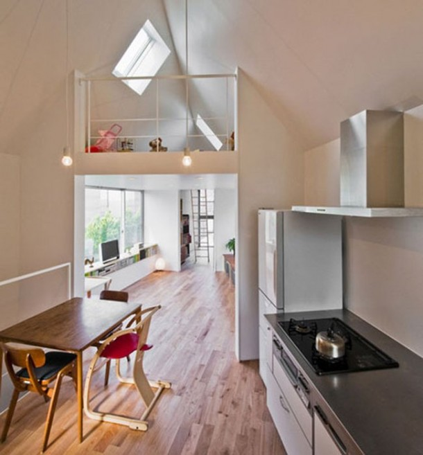 Tiny Triangle House has Surprises Inside it5