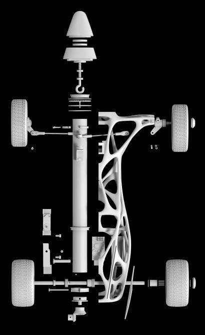 Ultimate Rubber Band Race Car - Cirin6
