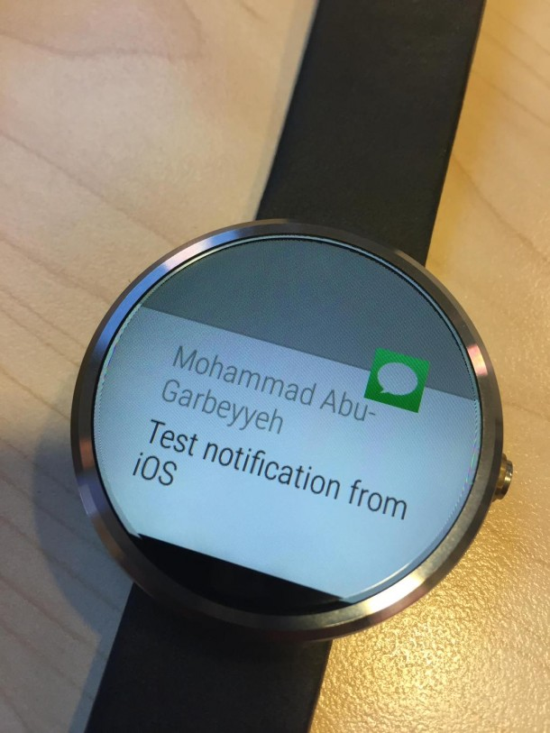 Use Android Smartwatch with iPhone2