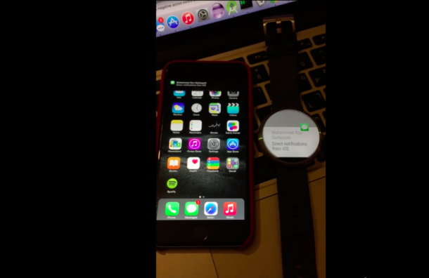 Use Android Smartwatch with iPhone3