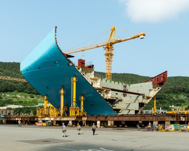 World's Largest Ship being Constructed in South Korea10