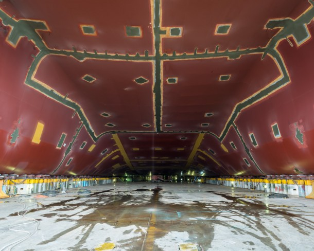 World's Largest Ship being Constructed in South Korea12