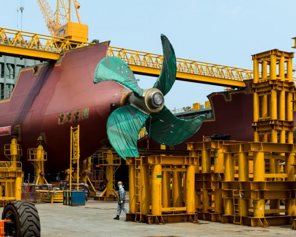 World's Largest Ship being Constructed in South Korea7
