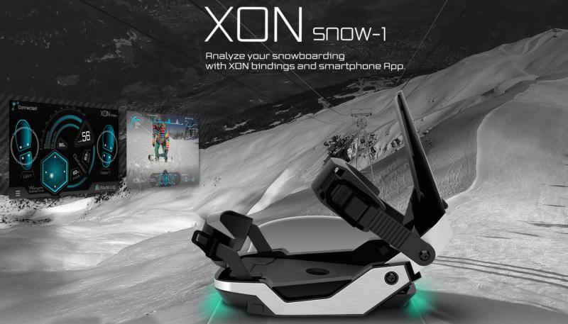 XON snow-1 – The Smart Snowboard2