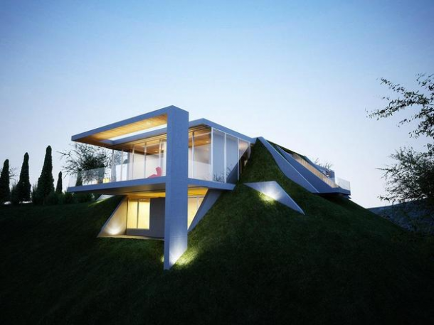 15 Amazing Houses That Have been built in Nature 11
