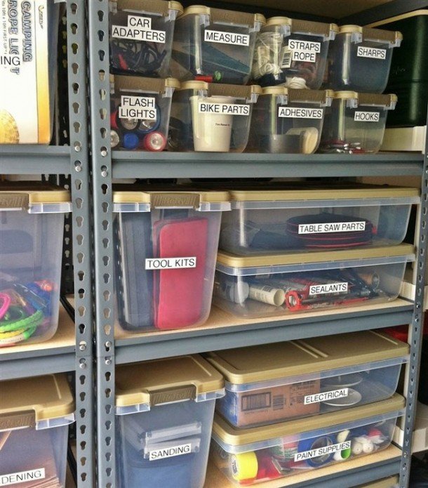 15 Hacks for Organizing Your Garage 3