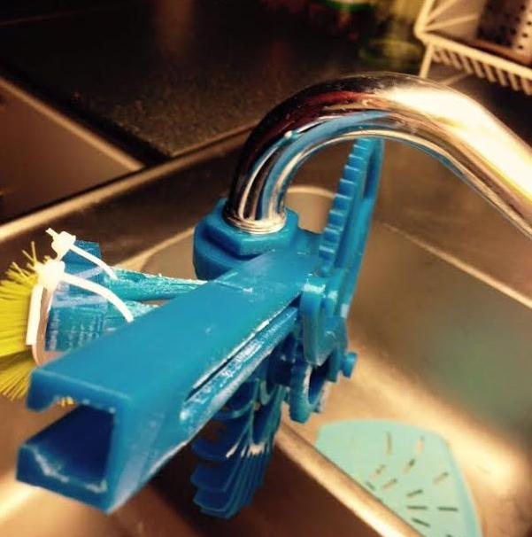 3D Printed Dishwasher by Swedish Student 4