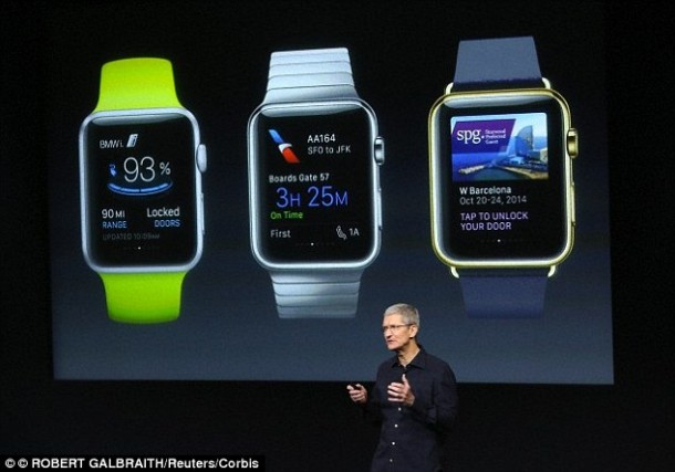 Apple Sapphire Crystal Watch 4
