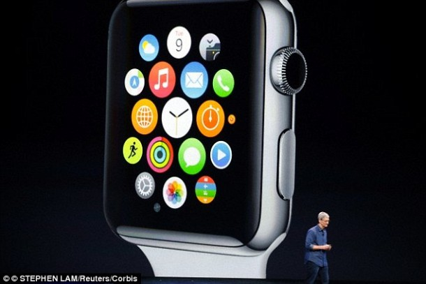 Apple Sapphire Crystal Watch 5