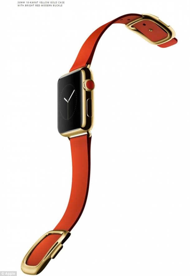 Apple Sapphire Crystal Watch