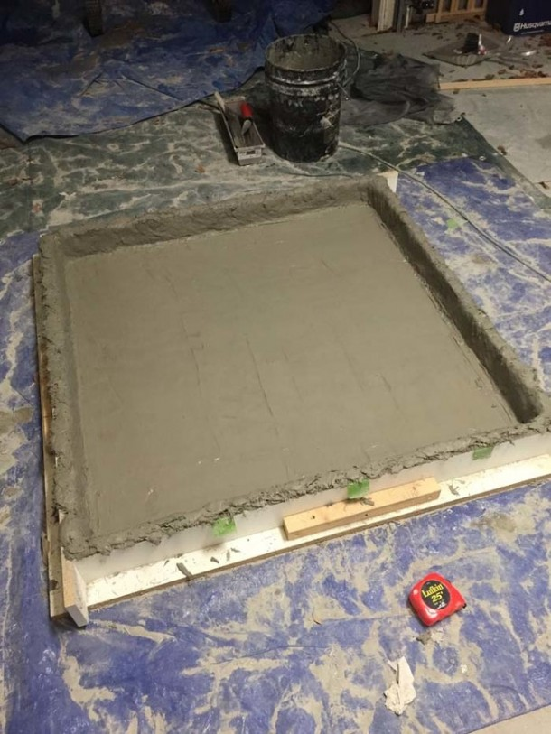 Concrete DIY Coffee Table8