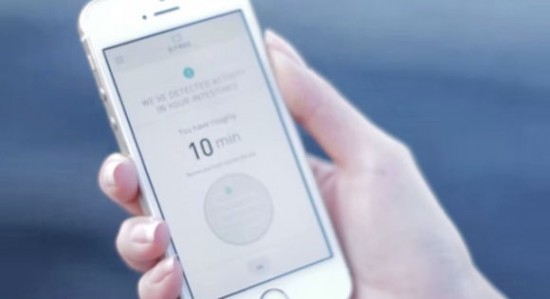 D-Free A device that Gives you 10 Minutes to Find a Washroom 2