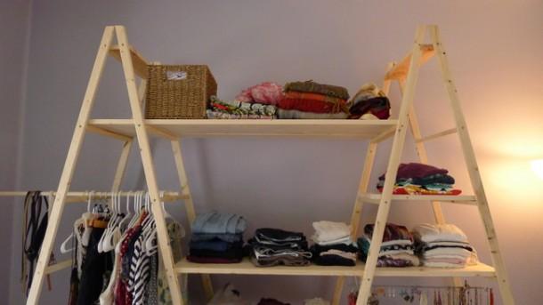 DIY Ladder Shelves 11