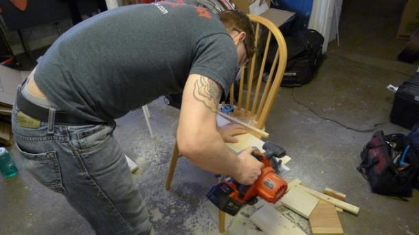 DIY Ladder Shelves 3