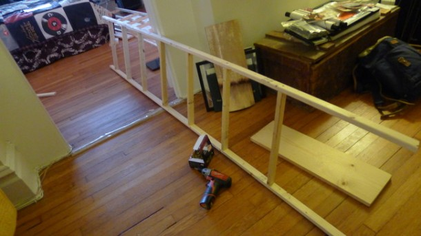 DIY Ladder Shelves 4