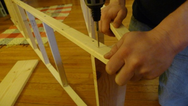 DIY Ladder Shelves 5