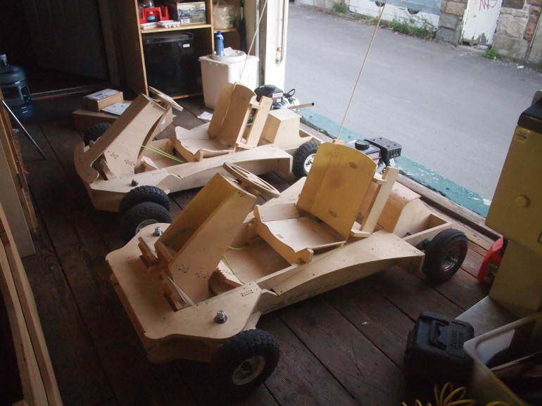 Flatpack Go-Kart by PlyFly8