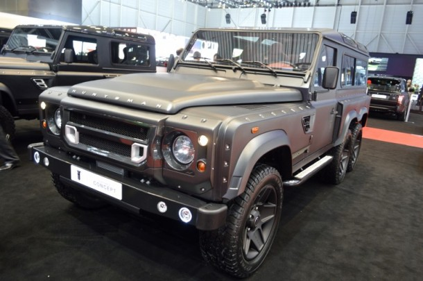 Kahn Design Imparts Another Axle and Creates Flying Huntsman