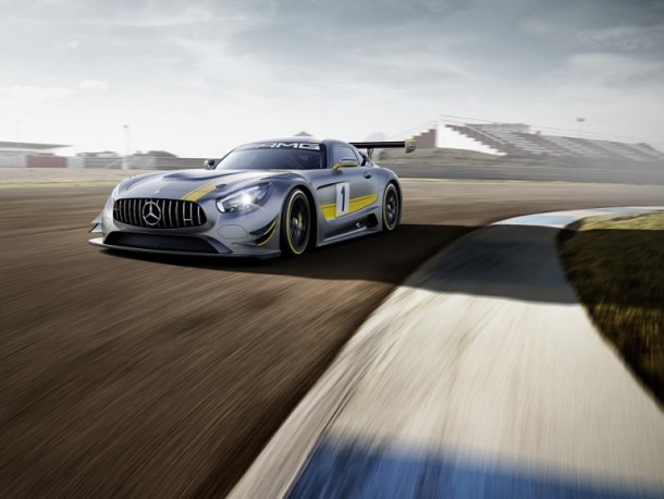 Mercedes-AMG GT3 Unveiled