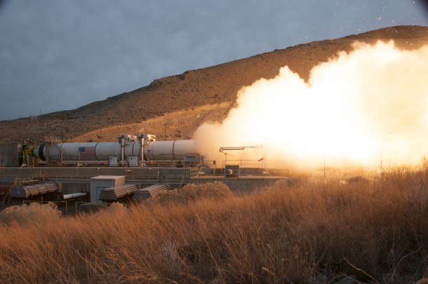 NASA Tests Mars Rocket Booster 3