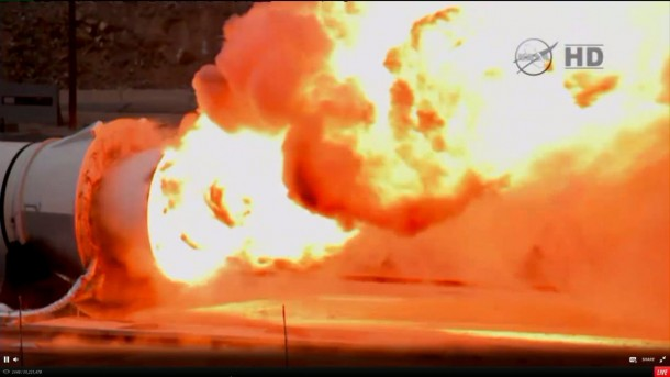 NASA Tests Mars Rocket Booster 5