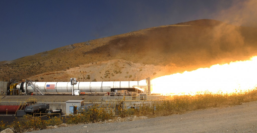 NASA Tests Mars Rocket Booster 6