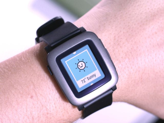 Pebble Time Watch 2