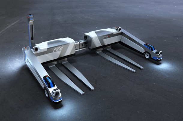 Ray Robots Serva Transport Systems Audi 2