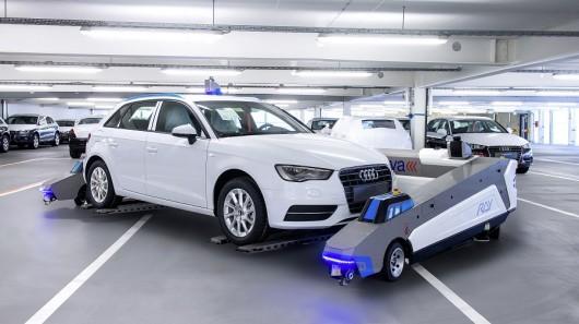 Ray Robots Serva Transport Systems Audi 5