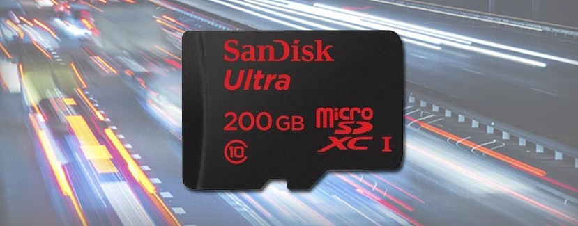 SanDisk Releases microSD with a Capacity of 200 GB 4